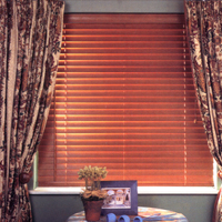 Mini Hardwood Venetian Blind